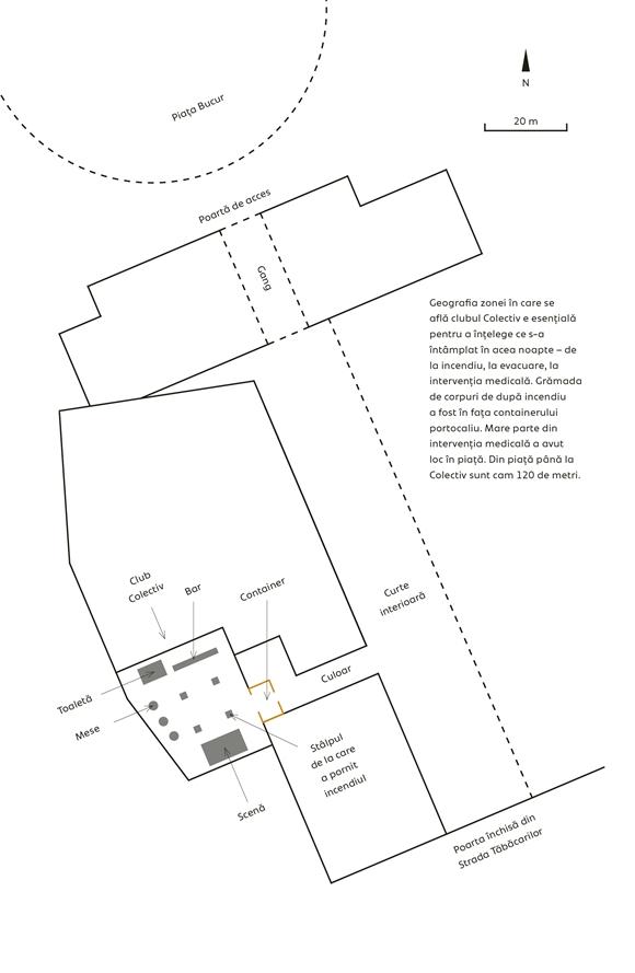 Harta Colectiv (Schiță de Raymond Bobar)